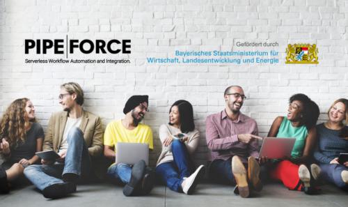 PIPEFORCE erhält staatliche Förderung für Serverless-Workflow-Automation